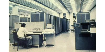 COBOL mainframe data center